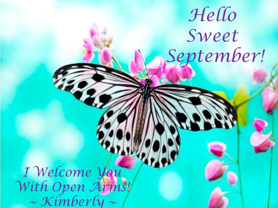 Hello Sweet September!