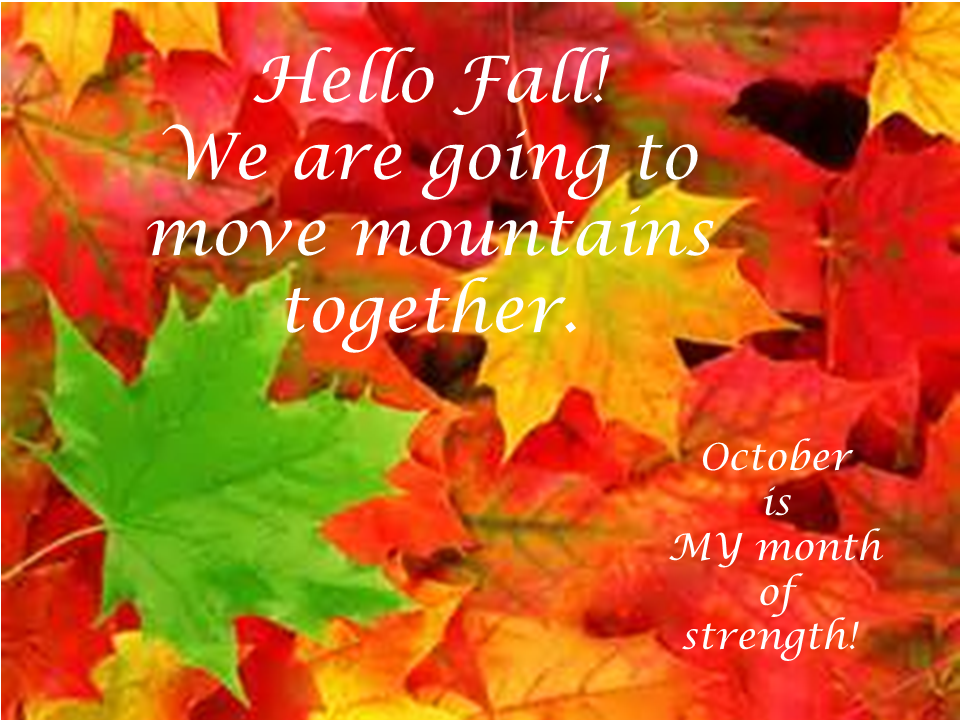 Hello October & Fall!