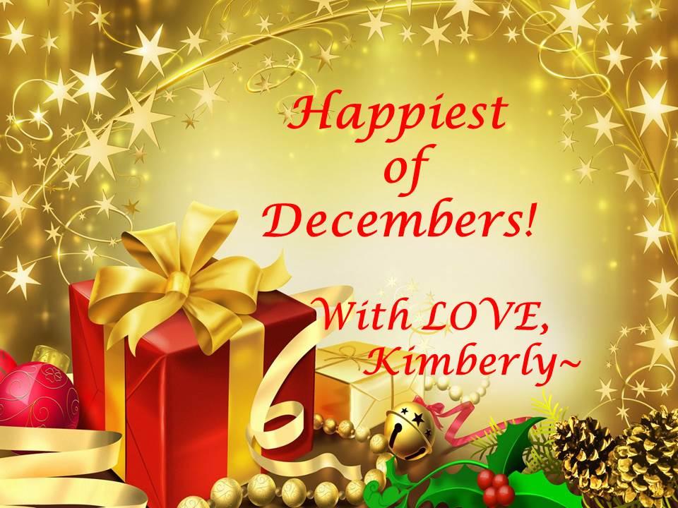 Happiest Of Decembers Friends!
