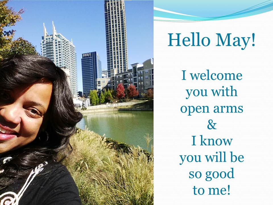 Hello May From Keystrokes By Kimberly