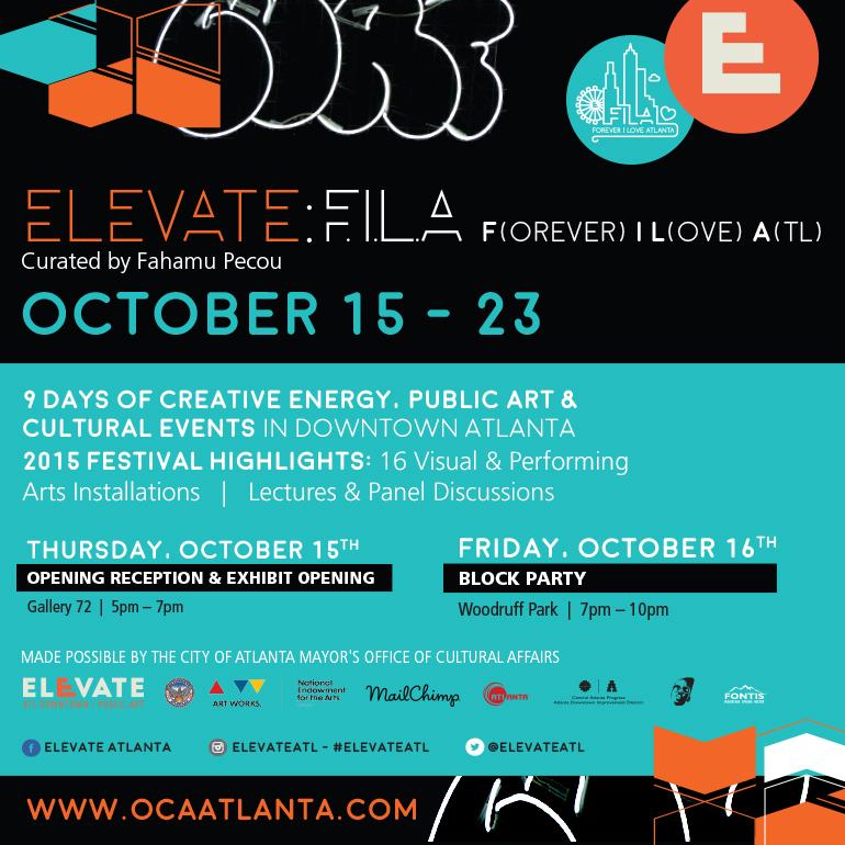 Presenting Elevate : FILA ~ Forever I Love Atlanta