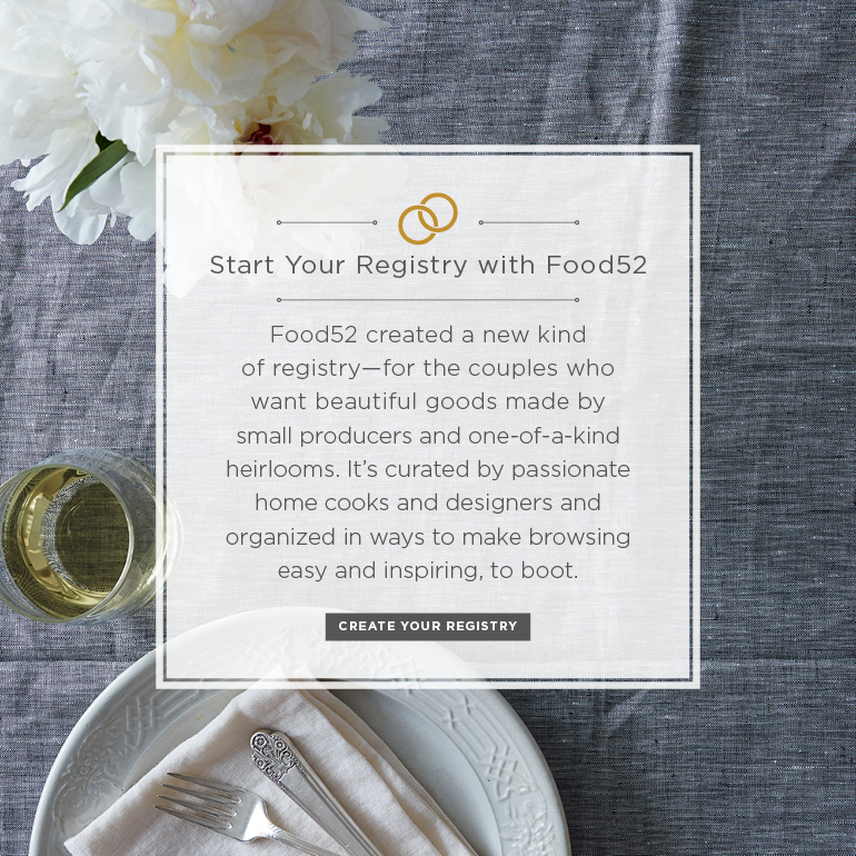 {WEDDING WEDNESDAY} ~ Food52.com Has A Wedding Registry