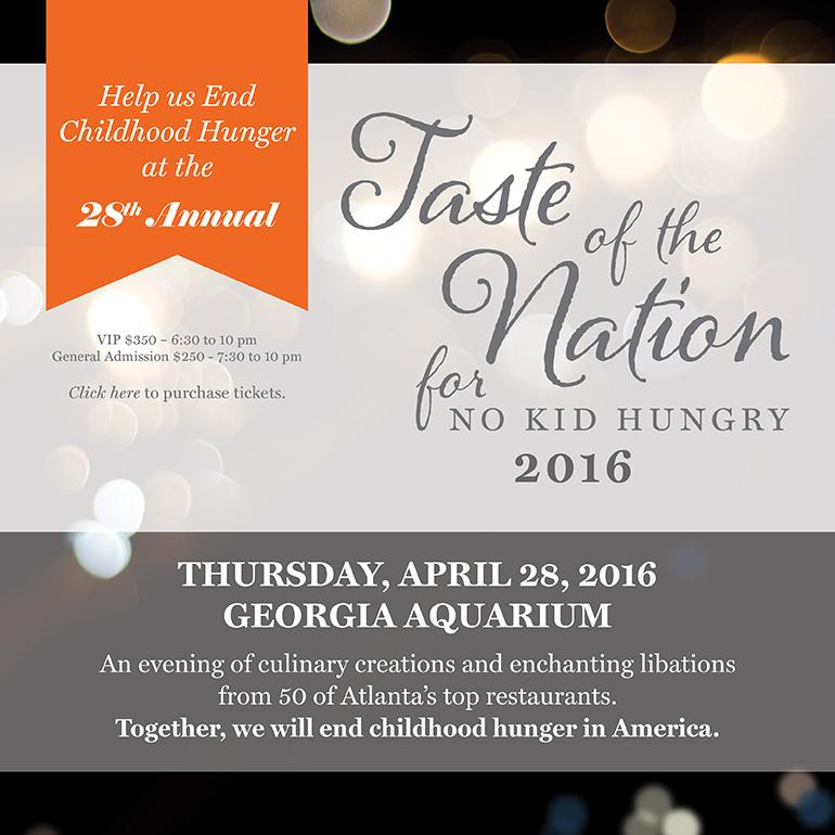 Taste of the Nation 2012