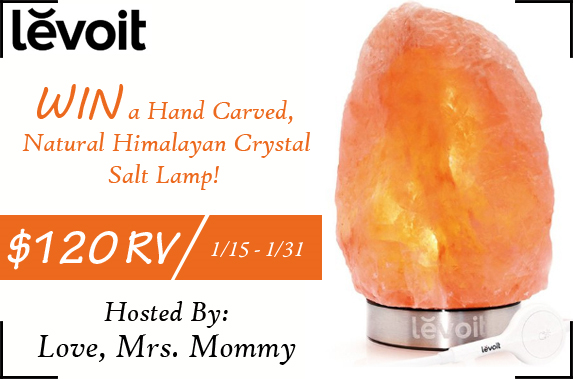 Wishing for a Levoit Salt Lamp Giveaway?