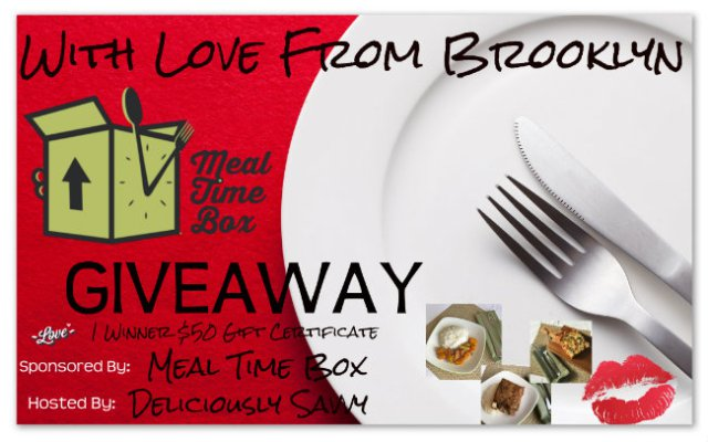 With Love From Brooklyn Meal Time Box Giveaway