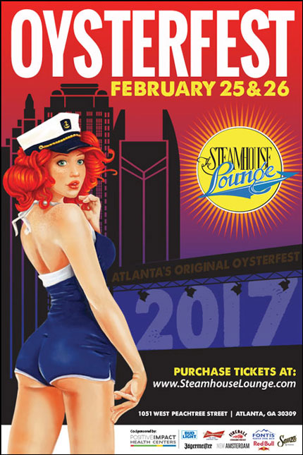 The Original Atlanta Oysterfest Is February 25th & 26th!